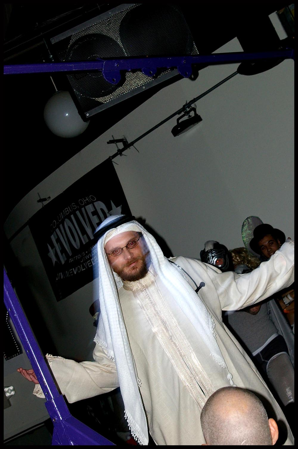 small costume muslim